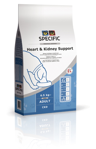 SPECIFIC - Diätfutter Hund - CKD - Heart and kidney support